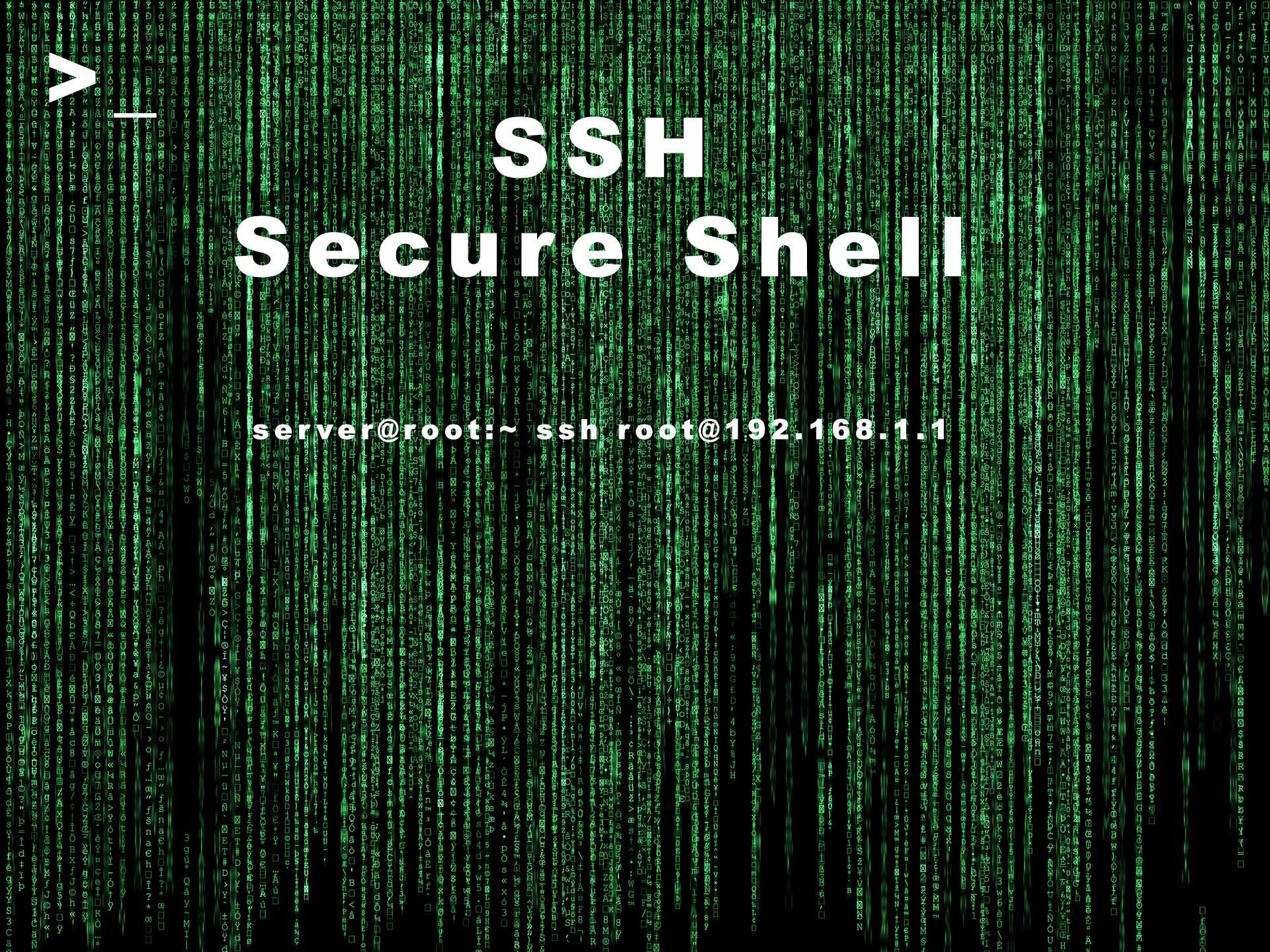 Comandos Básicos de SSH