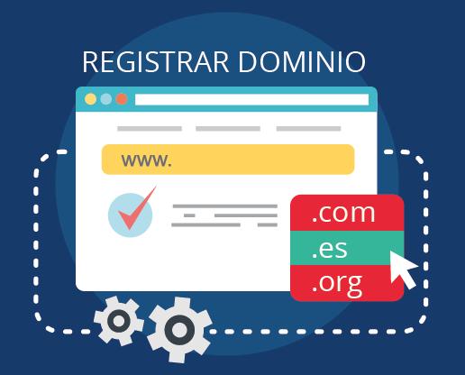ilustración registrar dominio