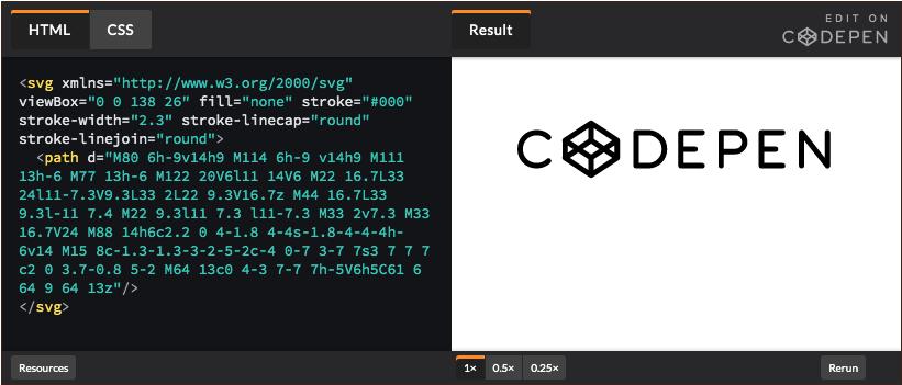 Codepen editor código online