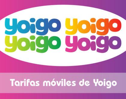 Tarifas móviles de Yoigo